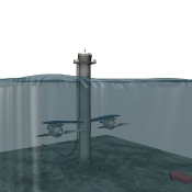 Hydro Electric Wave Farm