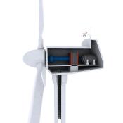 Wind Turbine interior