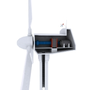 Wind Turbine interior