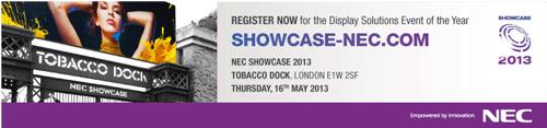 NEC Showcase 2013